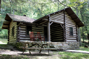 Cabin at First Landing State Park