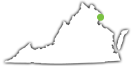 Location of Leesylvania State Park in Virginia