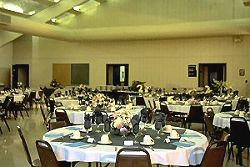 Hemlock Haven's banquet services can accommodate up to 250 guests.