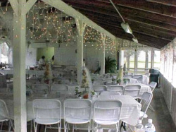 Chippokes Conference Shelter Setu Up For Wedding