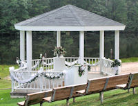 Cedar Crest Conference Center and gazebo